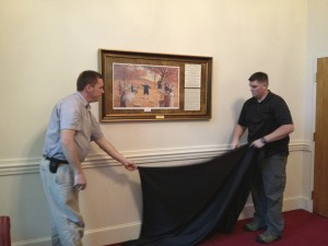 A gift to the big stevens creek baptist church from the baptist heritage revival society